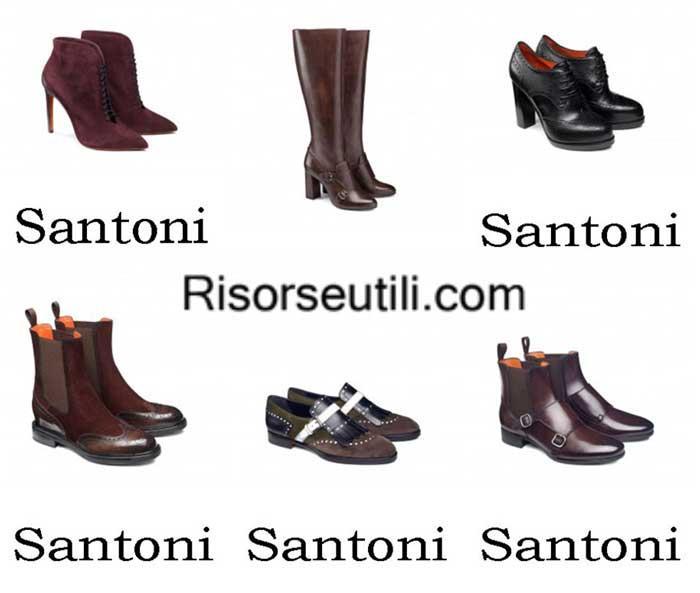 Shoes Santoni fall winter 2016 2017 footwear for women