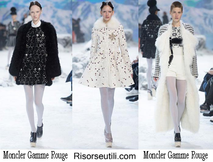 Brand Moncler Gamme Rouge fall winter 2016 2017