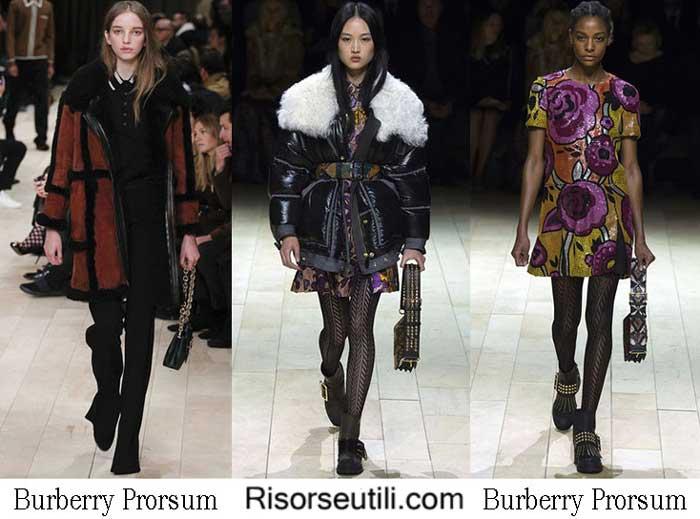 Burberry Prorsum fall winter 2016 2017 womenswear