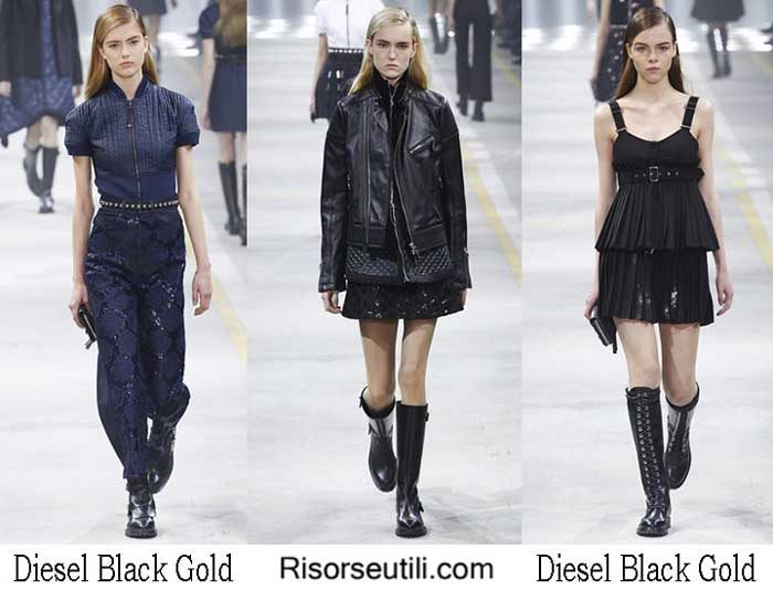 Fashion brand Diesel Black Gold fall winter 2016 2017