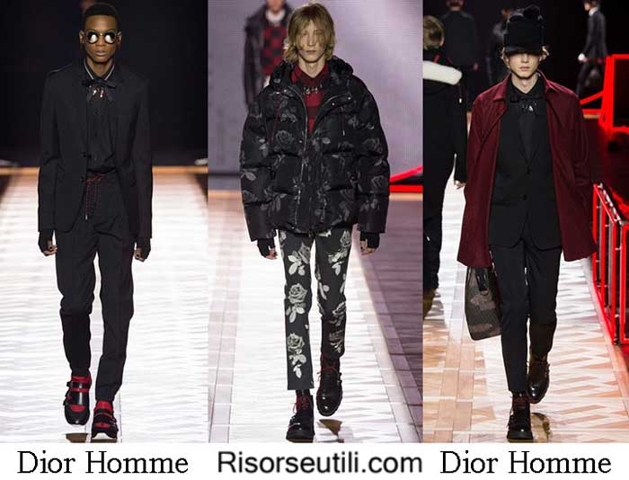 Fashion brand Dior Homme fall winter 2016 2017 for men