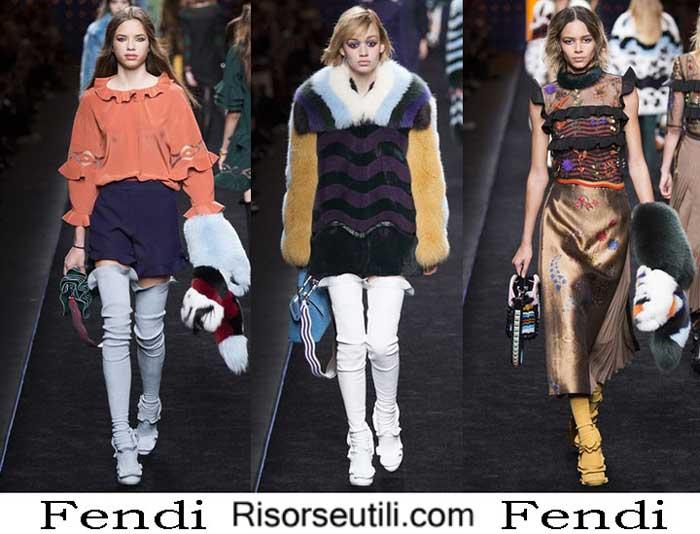 Fashion brand Fendi fall winter 2016 2017 for women