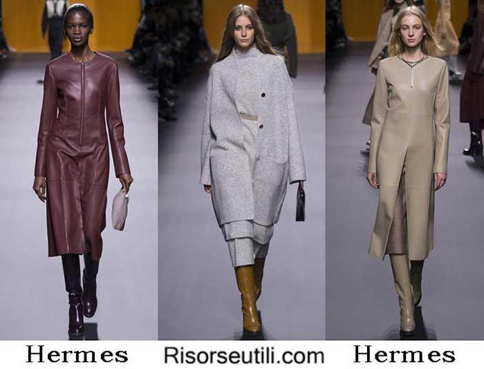 Fashion brand Hermes fall winter 2016 2017 for women