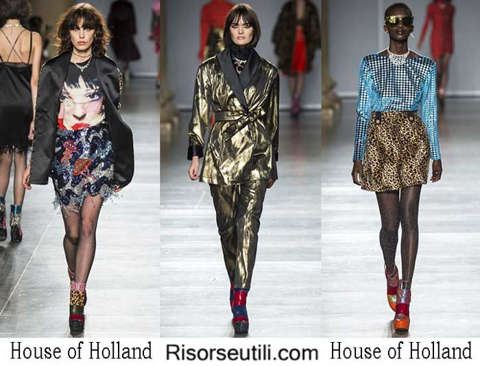 Fashion brand House of Holland fall winter 2016 2017