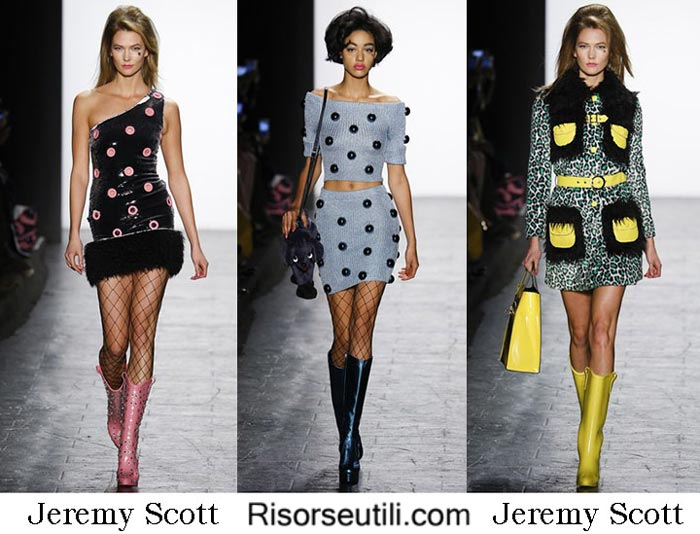 Fashion brand Jeremy Scott fall winter 2016 2017 women