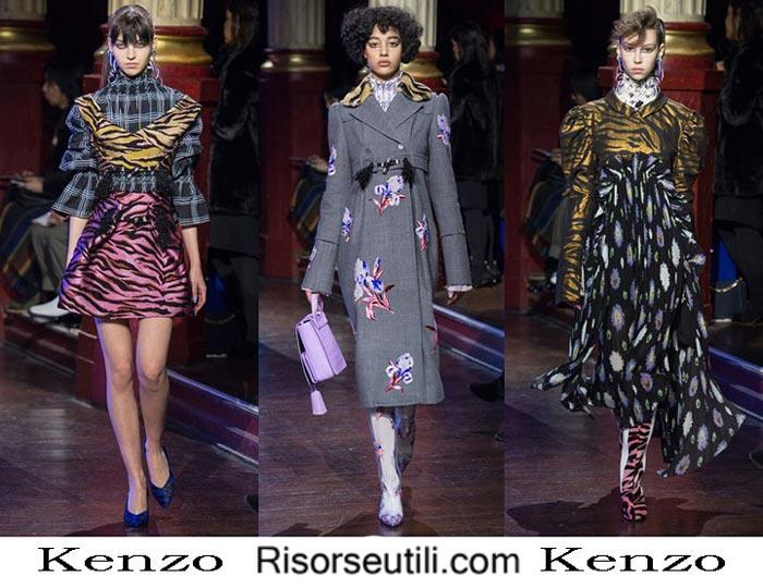 Fashion brand Kenzo fall winter 2016 2017 for women