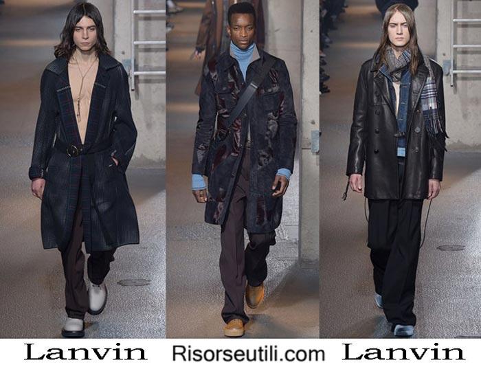 Fashion brand Lanvin fall winter 2016 2017 menswear