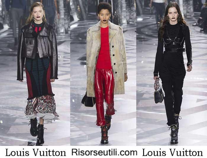 Fashion brand Louis Vuitton fall winter 2016 2017