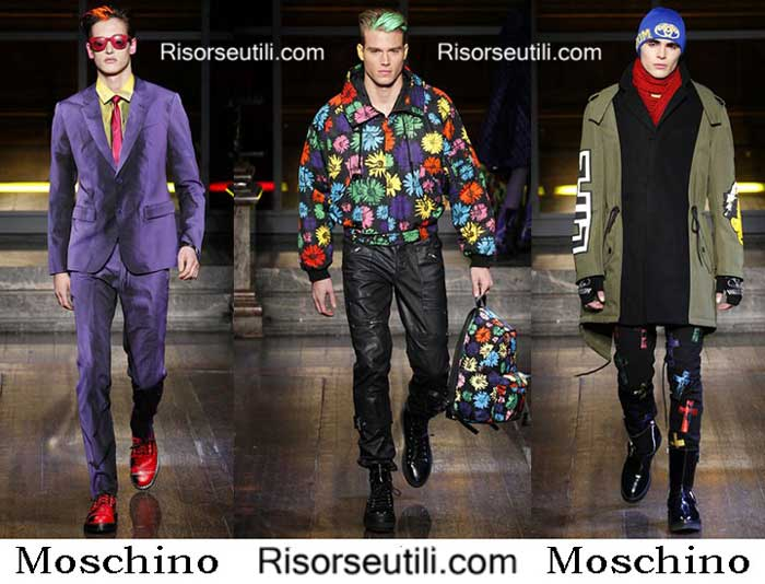 Fashion brand Moschino fall winter 2016 2017 for men