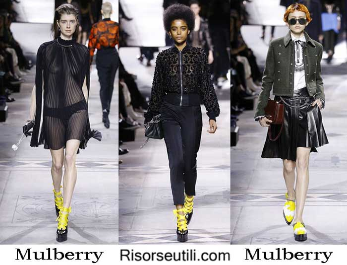 Fashion brand Mulberry fall winter 2016 2017 for women