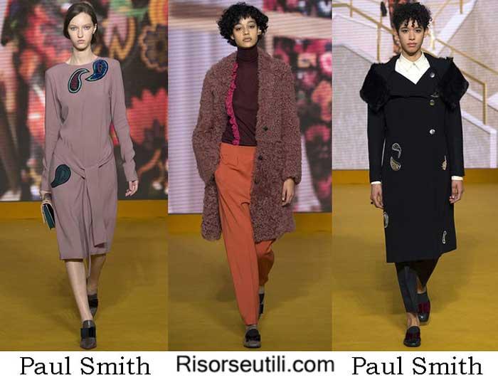 Fashion brand Paul Smith fall winter 2016 2017 women