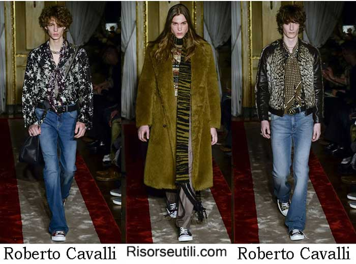 Fashion brand Roberto Cavalli fall winter 2016 2017 men