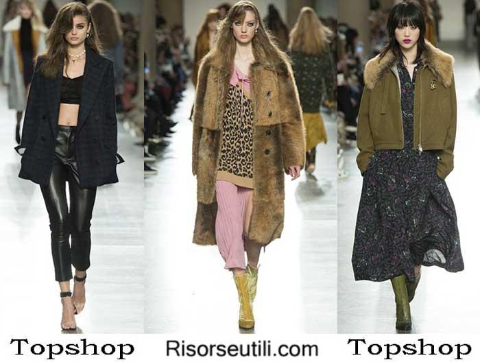 Fashion brand Topshop fall winter 2016 2017 for women