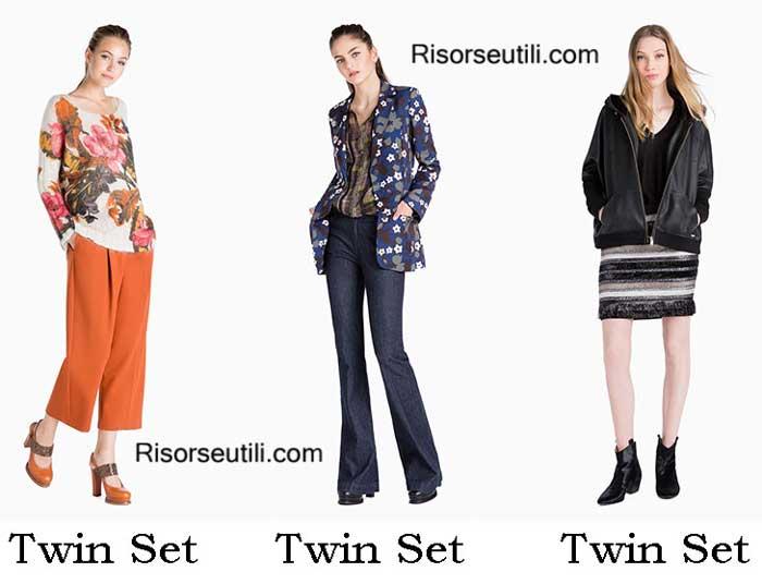 Fashion brand Twin Set fall winter 2016 2017 for women