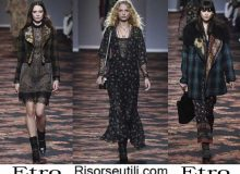 Fashion clothing Etro fall winter 2016 2017 for women