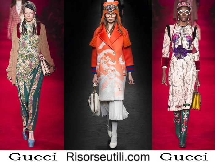 Fashion clothing Gucci fall winter 2016 2017 women