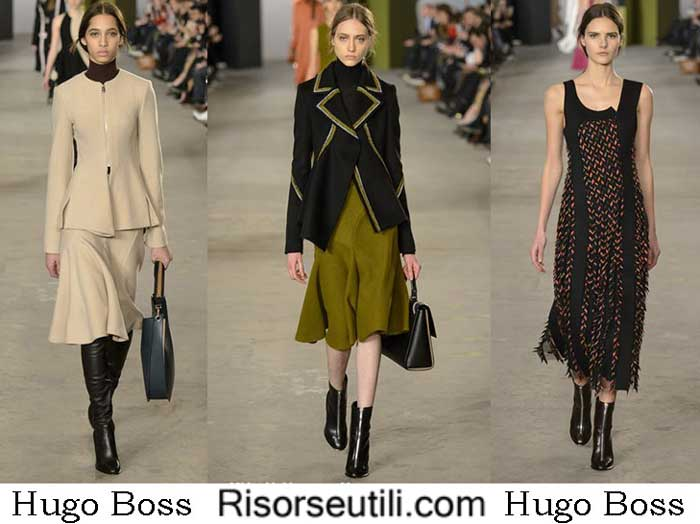 Fashion clothing Hugo Boss fall winter 2016 2017