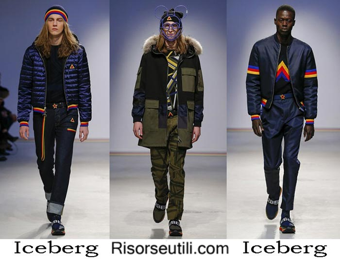Fashion clothing Iceberg fall winter 2016 2017 men