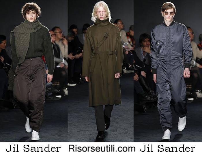 Fashion clothing Jil Sander fall winter 2016 2017 men