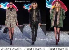 Fashion clothing Just Cavalli fall winter 2016 2017