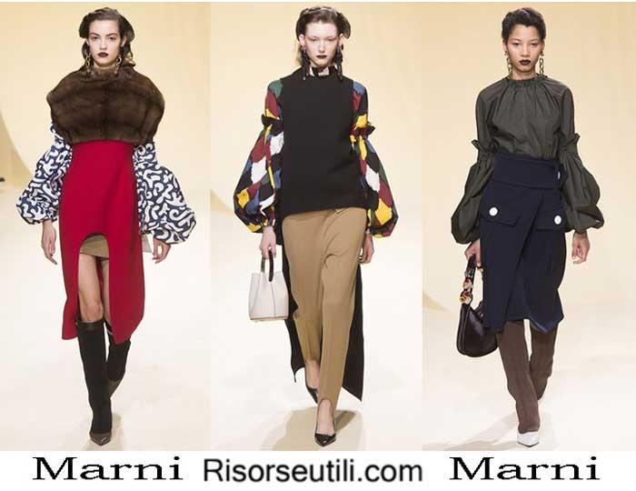 Fashion clothing Marni fall winter 2016 2017 women