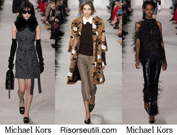 Fashion clothing Michael Kors fall winter 2016 2017