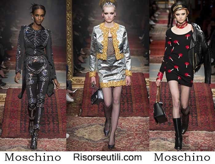 Fashion clothing Moschino fall winter 2016 2017