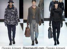 Lifestyle Giorgio Armani fall winter 2016 2017 for men