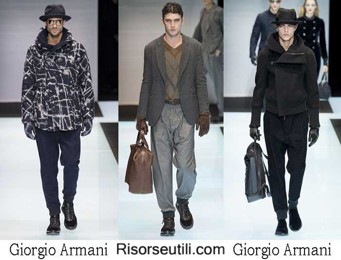 Lifestyle Giorgio Armani fall winter 2016 2017 for men