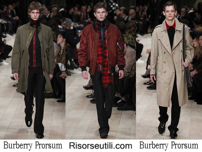Lifestyle Burberry Prorsum fall winter 2016 2017 for men
