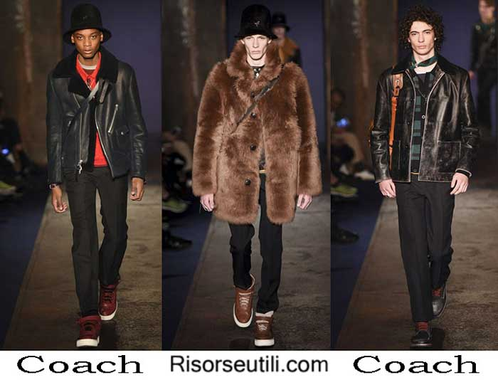 Lifestyle Coach fall winter 2016 2017 menswear