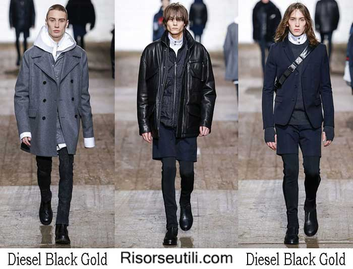 Lifestyle Diesel Black Gold fall winter 2016 2017 for men
