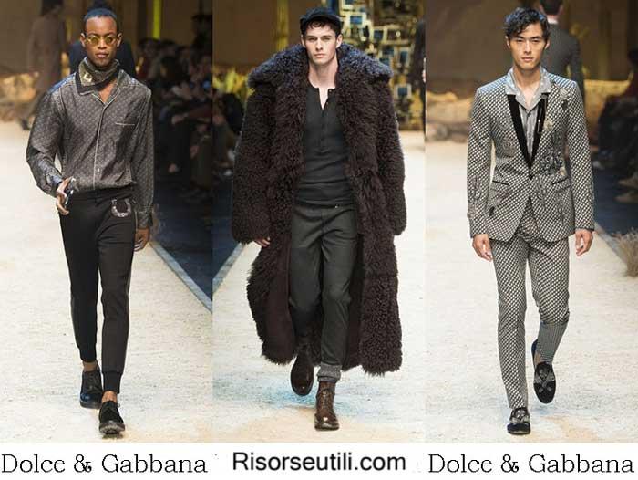 Lifestyle Dolce Gabbana fall winter 2016 2017 men
