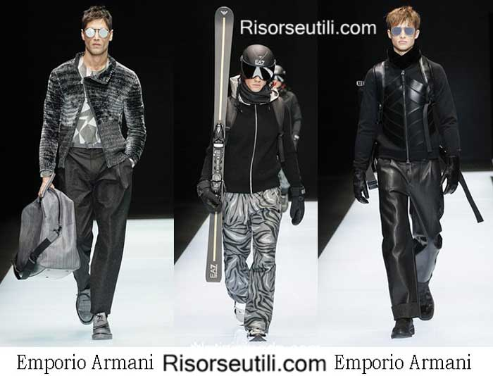Lifestyle Emporio Armani fall winter 2016 2017 for men