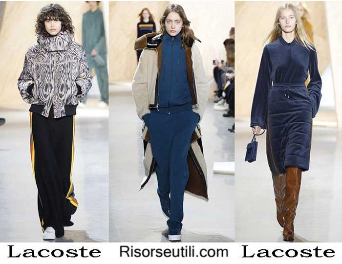Lifestyle Lacoste fall winter 2016 2017 womenswear