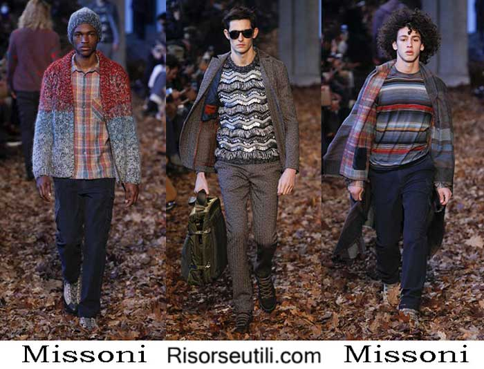 Lifestyle Missoni fall winter 2016 2017 menswear look