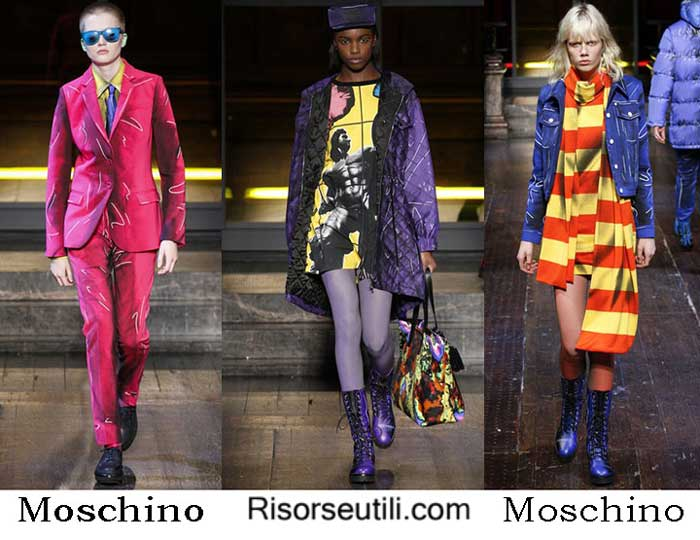 Lifestyle Moschino fall winter 2016 2017 womenswear