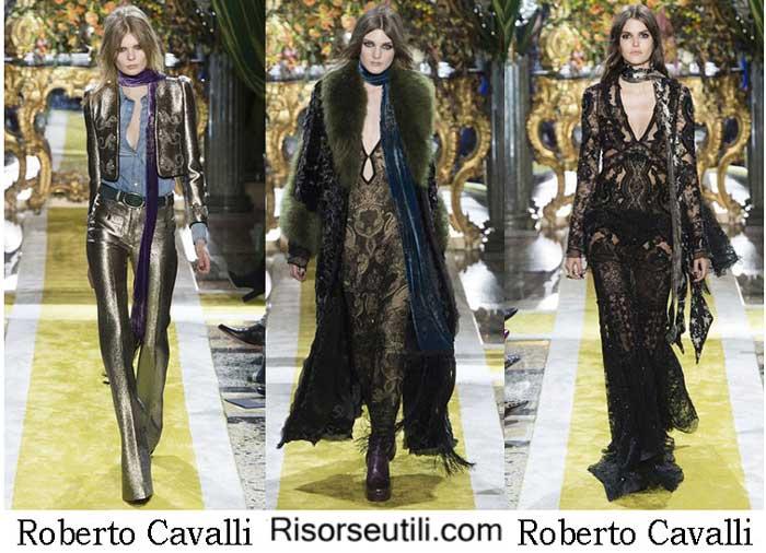 Lifestyle Roberto Cavalli fall winter 2016 2017 for women
