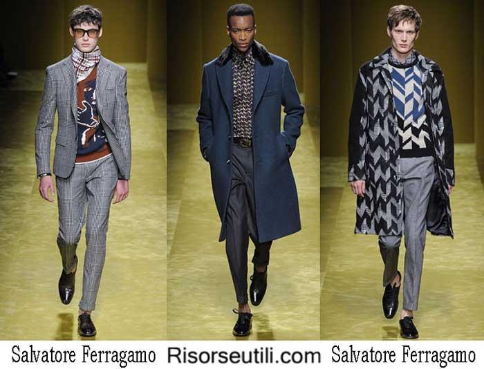 Lifestyle Salvatore Ferragamo fall winter 2016 2017 menswear