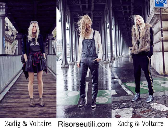 Lifestyle Zadig Voltaire fall winter 2016 2017 women