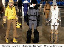 Fashion clothing Moncler Grenoble fall winter 2016 2017 womenswear