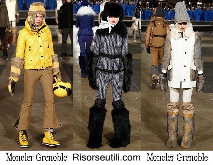 Moncler Grenoble fall winter 2016 2017 womenswear