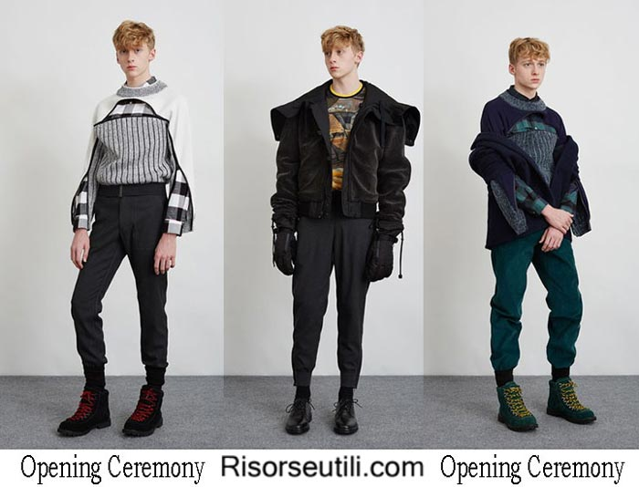 Opening Ceremony fall winter 2016 2017 menswear