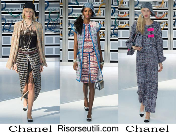 Chanel spring summer 2017 fashion show for women