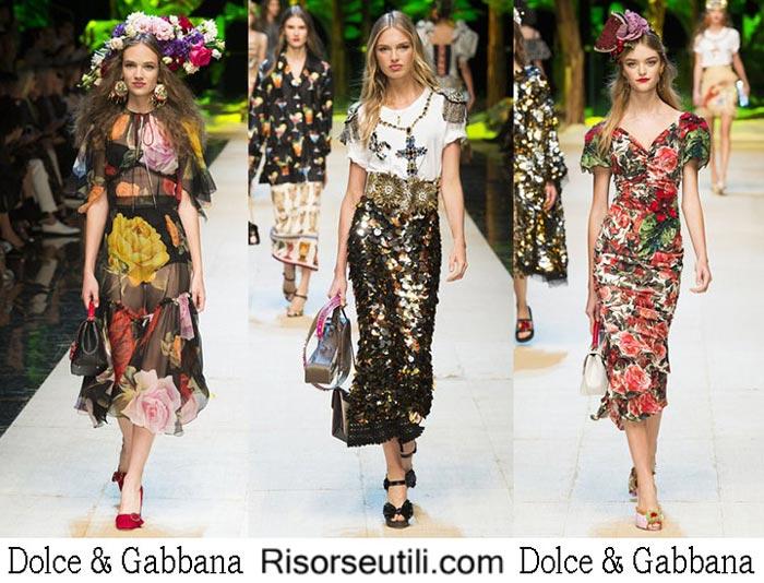 Dolce Gabbana spring summer 2017 fashion clothing