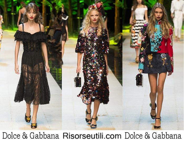 Dolce Gabbana spring summer 2017 fashion show for women