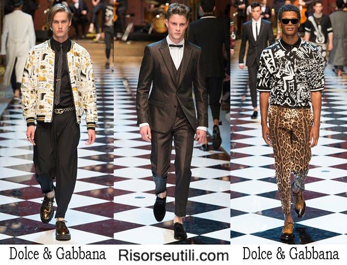 Dolce Gabbana spring summer 2017 lifestyle for men