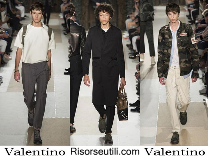 Fashion brand Valentino spring summer 2017
