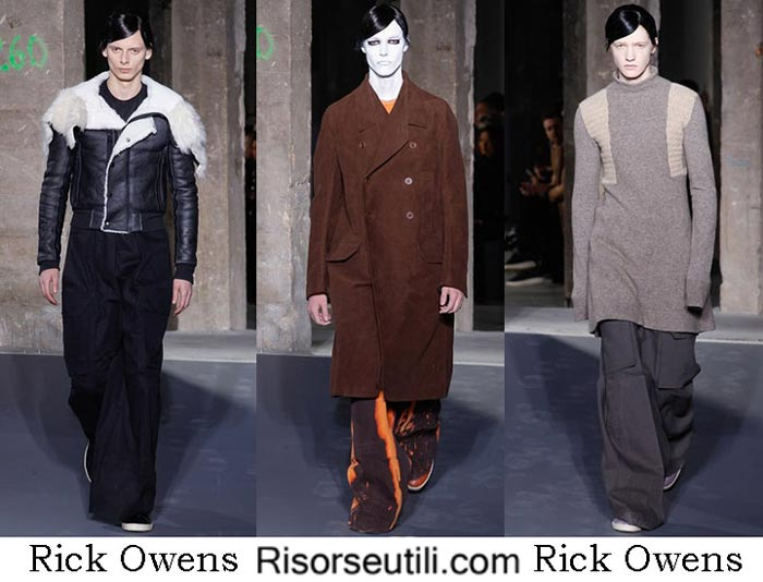 Fashion Rick Owens fall winter 2016 2017 menswear