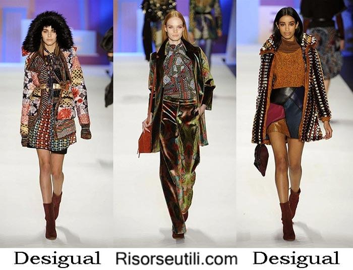 Fashion brand Desigual fall winter 2016 2017 women